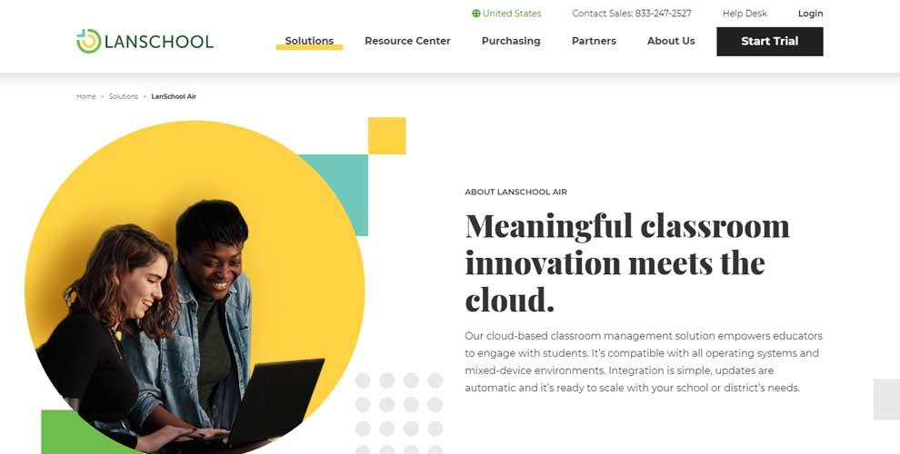 LanSchool™ Air, el software de gestión de aulas basado en la nube de Lenovo™, ya está disponible en Europa