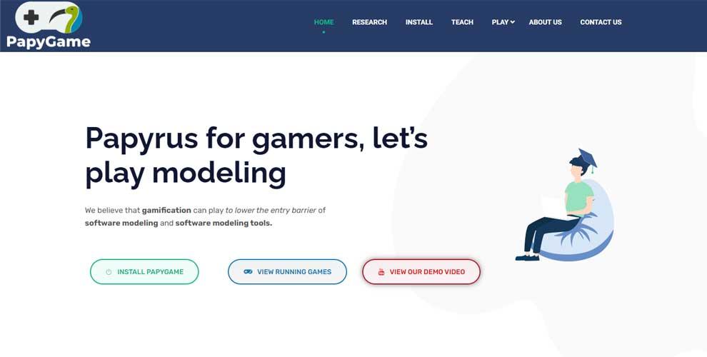 Crear tecnología jugando: plataforma internacional para desarrollar software con gamificación
