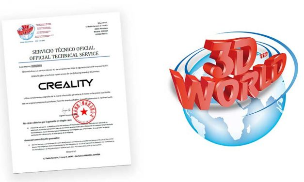 3DWorld: 1er Servicio Tecnico Oficial de la conocida marca de impresoras 3D CREALITY en España